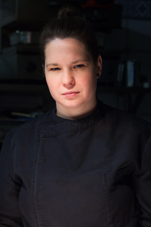 Lena Koenig in der Küche