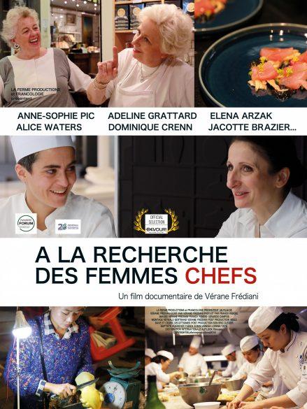 Filmposter von The Goddesses of Food, ein Dokumentarfilm von Vérane Frédiani